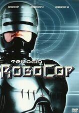 ROBOCOP DVD TRILOGIA 1 2 3  NUEVO [ SIN ABRIR ] EDICION ESPAÑOLA //