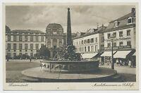 AK Darmstadt Marktbrunnen gelaufen 1935  (X288)