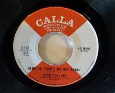 Bird Rollins: Do It To It / Here He Comes Drunk Again   [Unplayed Copy]