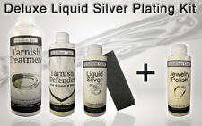 Plate real lasting .999 Silver in seconds!