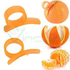 5X Strumento pela agrumi sbucciatore taglierina rimozione buccia sbuccia arancia