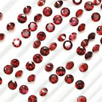 Lot of 6mm Round Facet Cut Natural Mozambique Garnet Loose Calibrated Gemstone