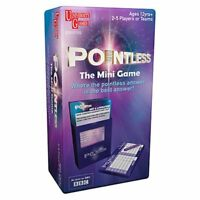 Pointless ~ Mini Card Game ~ Travel Size University Games