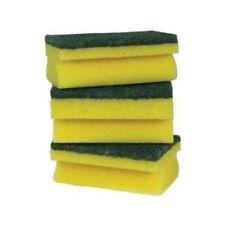 10 x Large Heavy Duty Sponge Scourers - Catering Grade