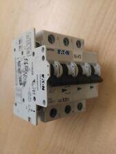 Eaton FAZ Reja de desminado Mini Interruptor de circuito 3P, 25 a, 10 Ka, curva B