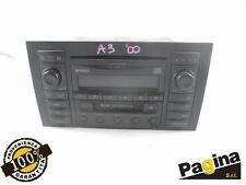 AUTORADIO ORIGINALE LETTORE CD CASSETTE AUDI A3 (8L) (1996-2001)