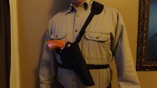 "Right Hand Draw Bandoleer / Shoulder CHEST Holster RUGER GP 100 w/ 6"" barrel USA"