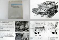 Mercedes Benz Werkstatthandbuch 300D, 190D 2.5 Turbo 1987 E-Klasse Typ 124 201