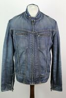 Zip Up Denim Jacket Chest Size 44""