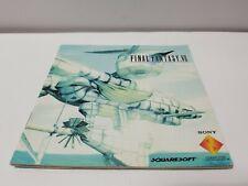 Playstation 1 Ps1 Manual Only Final Fantasy Vii 7