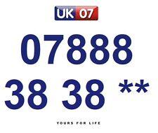 07888 38 38 **  - Gold Easy Memorable Business Platinum VIP UK Mobile Numbers