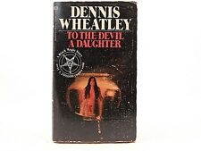 GOOD! TO THE DEVIL A DAUGHTER by Dennis Wheatley (1972) Ballantine Paperback
