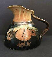 Richard Stafford Studio Pottery Eagle Harbor Pitcher Stoneware Signed C89