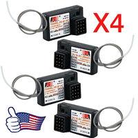 Hot 4PCS Flysky FS-GR3E AFHDS 2.4G 3CH Receiver for GT3B GT2 GT3C Transmitter @