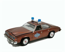 Greenlight 1:64 Pontiac LeMans 1977 Police Car Brown Diecast Model Car No Box