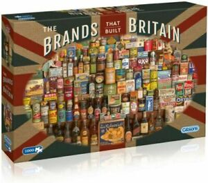 GIBSONS THE BRANDS THAT BUILT BRITAIN 1000 PIECE JIGSAW PUZZLE