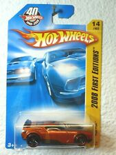 40th Anniversary Card 2008 First Editions Hot Wheels Fast Fish #014