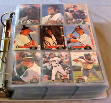 1992 Topps Stadium Club MLB Baseball Full 900 Cards Set + Draft Pick Cards 1-2-3