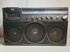 Vintage Magnavox Boombox D8443 Portable Stereo Cassette - Parts or Repair