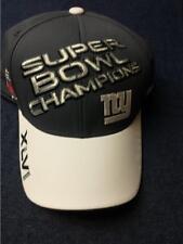 New York Giants Super Bowl 46 Champions Locker Room Reebok Flex Hat Cap NEW!!!