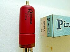 EF37A  Pinnacle Red Tubular  New Old Stock Valve Tube 1pc JL19A
