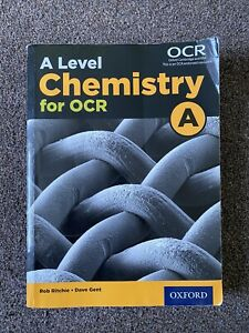 A Level Chemistry for OCR OXFORD