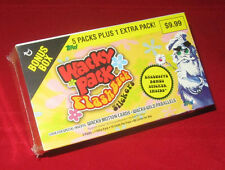 WACKY PACKAGES FLASHBACK 1 SEALED BONUS BOX    @@  SOLD OUT  @@