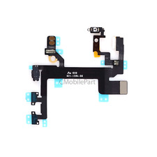 Power Mute Volume Button Switch Flex Cable Ribbon Replacement Part for iPhone 5S