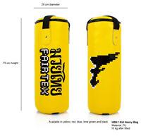 New GENUINE Fairtex HBK1 Kids Heavy Bag UNFILLED MMA & BOXING EQUIPMENT
