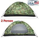 Portable Camping Hiking Tent Camouflage Waterproof Outdoor 2 Person UV Tents