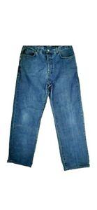 Henri Lloyd Mens Classic Fit Blue Jeans W32 L30 Short