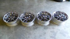 JDM WEDS KRANZE LXZ WHEELS STAGERRED OFFSET SET 18X8 +31,18X8 +49  5X114,3