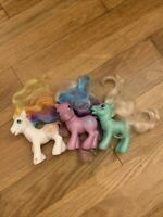 My Little Pony MLP Vintage G3 Lot Of 3