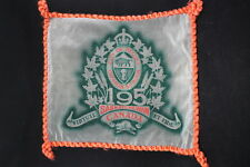 Ww1 Canadian Cef 195th Battalion Sweetheart Pillow Case