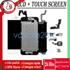 SCHERMO PER IPHONE 6 6 PLUS 6S LCD DISPLAY  ASSEMBLATO COMPLETO + BUTTON&CAMERA