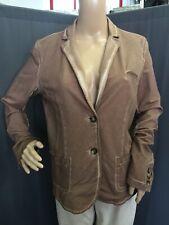 Opus Sweat Blazer Damen Braun Vintage Gr 38 Model Jocy Jersey 1A Zustand
