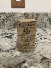 Rare Vintage Herter's Model Perfect Gun Cleaning Patches - With Original Box !