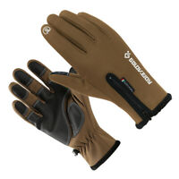 Windproof Full Fingers Warm Touch Screen Gloves for Cycling Fishing Hunting