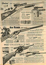 1973 ADVERTISEMENT Daisy Air Rifle BB Gun m/880 Pump up Red Ryder Little Beaver