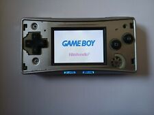 Nintendo Game Boy Micro Silver Spielkonsole ?Original & Voll Funktionstüchtig?