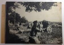 World War II Photo Soviet troops attack Historical photo 1941 thick cardboard