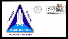1983 SPACE SHUTTLE DISCOVERY GOES OVERLAND PALMDALE TO EDWARDS AFB  (ESP#2785)