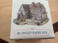 Liberty Falls Collection Ah24 Mrs. Applegate'S Boarding House In Orig. Box 1995