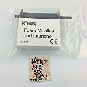 Knex Black Missile Launcher & Foam Missiles K'nex Part #92510 - (New)