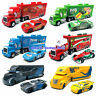 Disney Pixar Cars 3 McQueen King Hauler Truck 1:55 Diecast Model Lot Loose Toys
