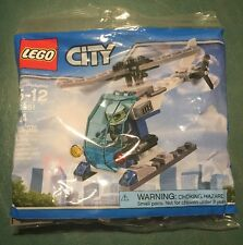 LEGO CITY POLICE HELICOPTER (30351) - NEW IN FACTORY SEALED PACKAGE