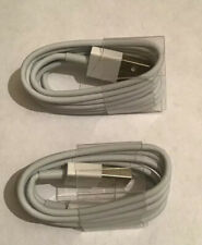 2 x 1m USB Charger Charging Cable Cord Cable Lighting For IPhone 8 7 6s 6 5 X XS
