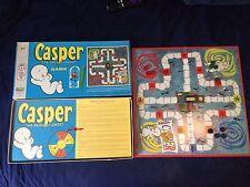 Vintage CASPER Friendly Ghost Board Game Milton Bradley Cartoon Complete Unused