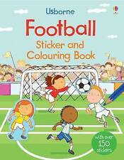 Usborne Football Sticker and Colouring Book by Sam Taplin NEW (Paperback, 2016)