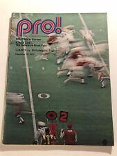 1971 NEW YORK GIANTS vs PHILADELPHIA EAGLES Program YANKEE STADIUM + Ticket TARK